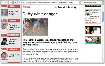 Dutty Wine Danger