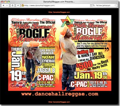 Bogle Memorial Dance