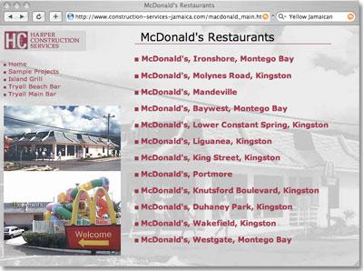 Mcdonalds Jamaica