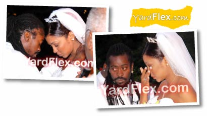 Beenie Man Dandel Wedding 1