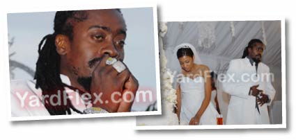 Beenie Man Dandel Wedding 2