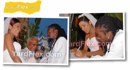 Beenie Man Dandel Wedding 3