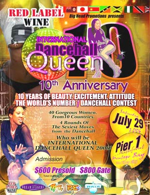 Dancehall Queen 10Th