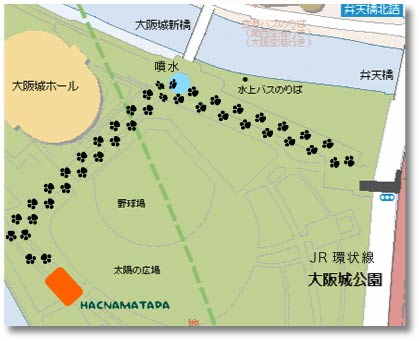 Hacnamatada Ohanami Map