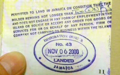 Passport Jamaica