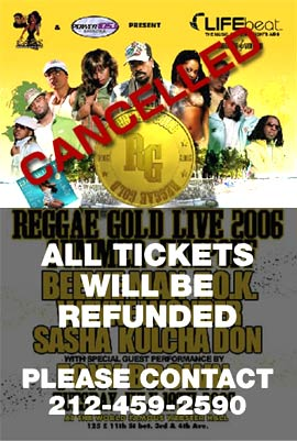 Reggae Gold Live 2006