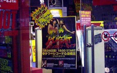 Towerrecords Hottie Cat