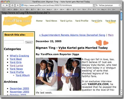 Vybz Kartel Gets Married